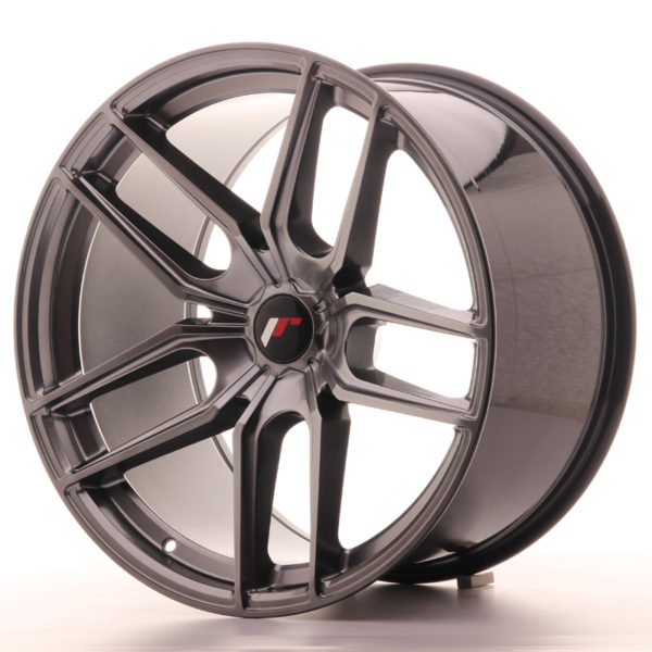 JR Wheels JR25 20x11 ET20-40 5H BLANK Hyper Black