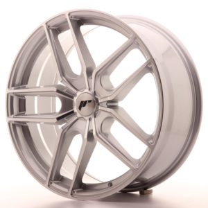 JR Wheels JR25 20x8,5 ET20-40 5H BLANK Silver Machined Face