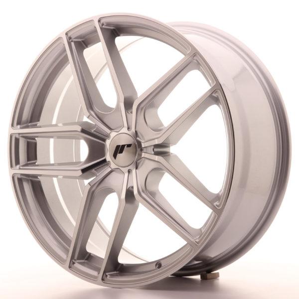JR Wheels JR25 20x8,5 ET20-40 5H BLANK Silver Machined Face