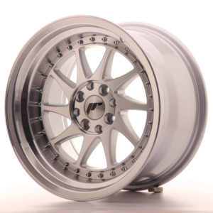JR Wheels JR26 16x9 ET20 4x100/108 Silver Machined Face