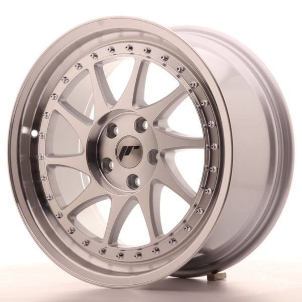 JR Wheels JR26 18x8,5 ET35 5x120 Silver Machined Face