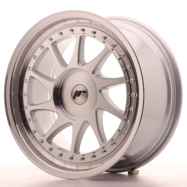 JR Wheels JR26 18x8,5 ET20-40 BLANK Silver Machined Face