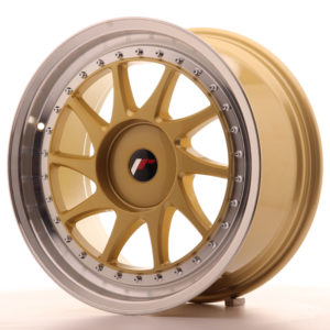 JR Wheels JR26 18x8,5 ET35-40 BLANK Gold w/Machined Lip
