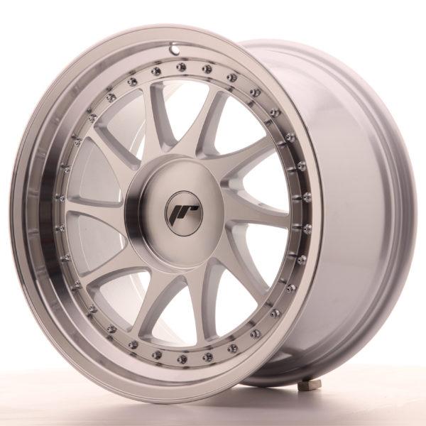 JR Wheels JR26 18x9,5 ET20-40 BLANK Silver Machined Face