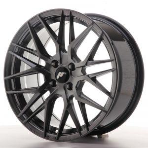 JR Wheels JR28 17x8 ET40 4x100 Hyper Black