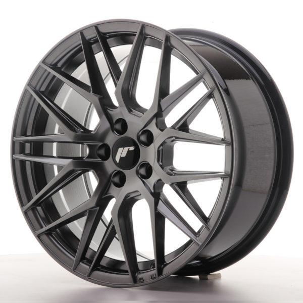 JR Wheels JR28 17x8 ET40 5x112 Hyper Black