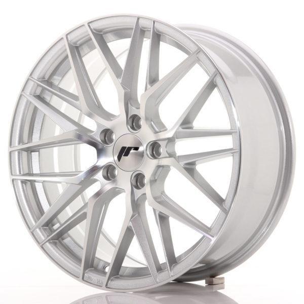 JR Wheels JR28 18x7,5 ET40 5x112 Silver Machined Face