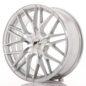 JR Wheels JR28 18x7,5 ET20-40 BLANK Silver Machined Face