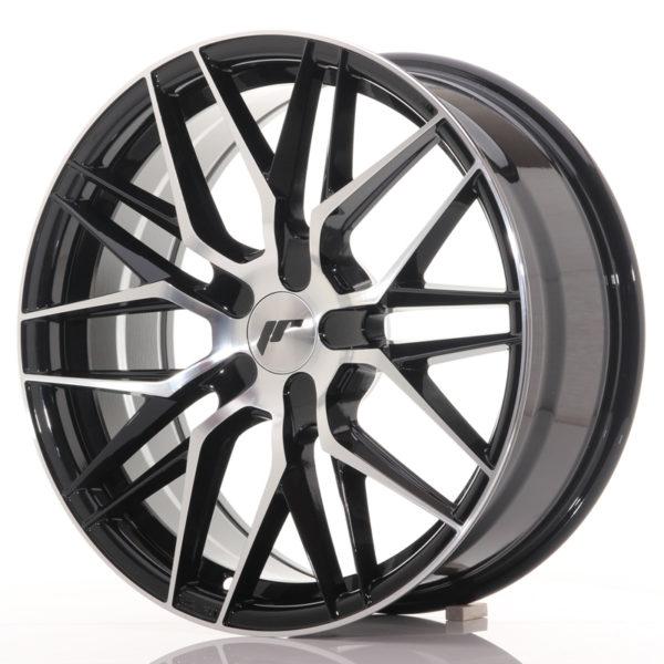 JR Wheels JR28 18x7,5 ET40 BLANK Gloss Black Machined Face