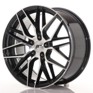 JR Wheels JR28 18x8,5 ET40 5x112 Gloss Black Machined Face