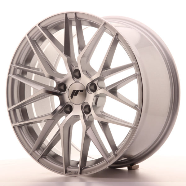JR Wheels JR28 18x8,5 ET40 5x112 Silver Machined Face