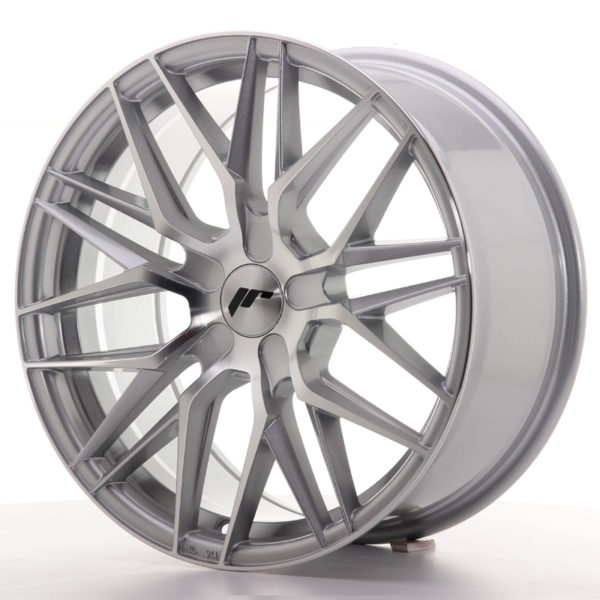 JR Wheels JR28 18x8,5 ET40 5H BLANK Silver Machined Face