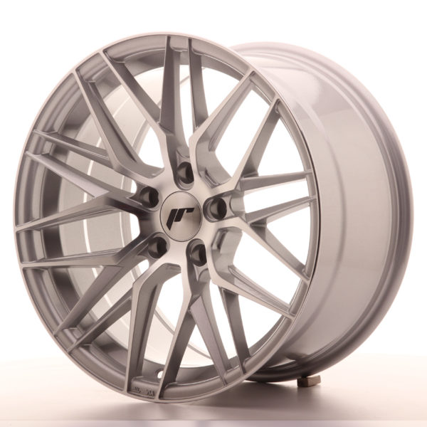 JR Wheels JR28 18x9,5 ET35 5x120 Silver Machined Face