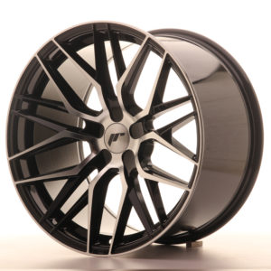 JR Wheels JR28 19x10,5 ET20-40 5H BLANK Gloss Black Machined Face