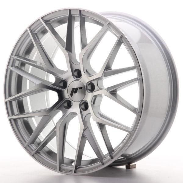JR Wheels JR28 19x8,5 ET35 5x120 Silver Machined Face