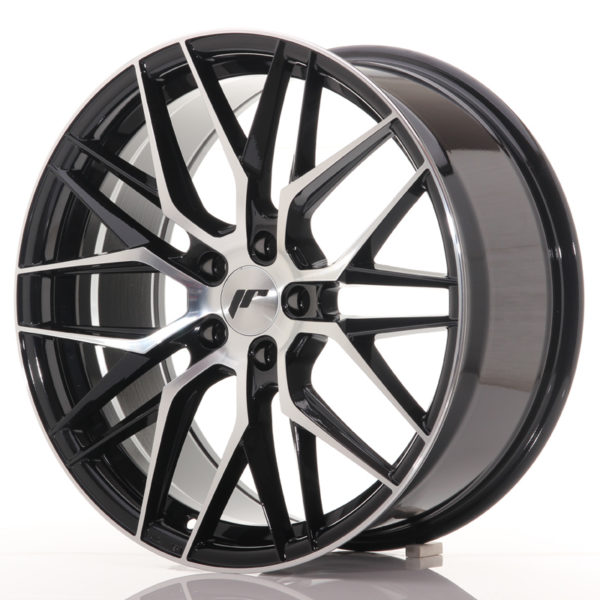 JR Wheels JR28 19x8,5 ET40 5x112 Gloss Black Machined Face