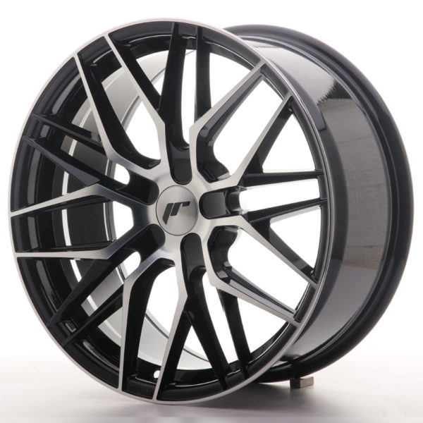 JR Wheels JR28 19x8,5 ET20-40 5H BLANK Gloss Black Machined Face