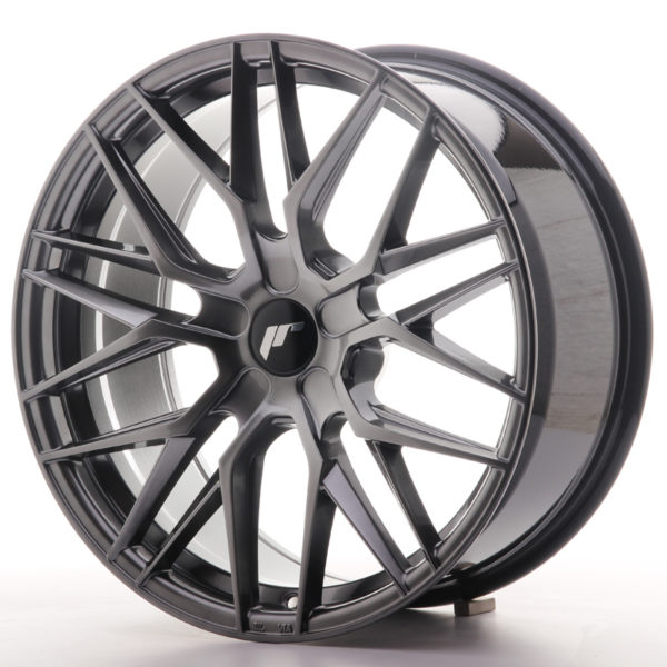 JR Wheels JR28 19x8,5 ET20-40 5H BLANK Hyper Black