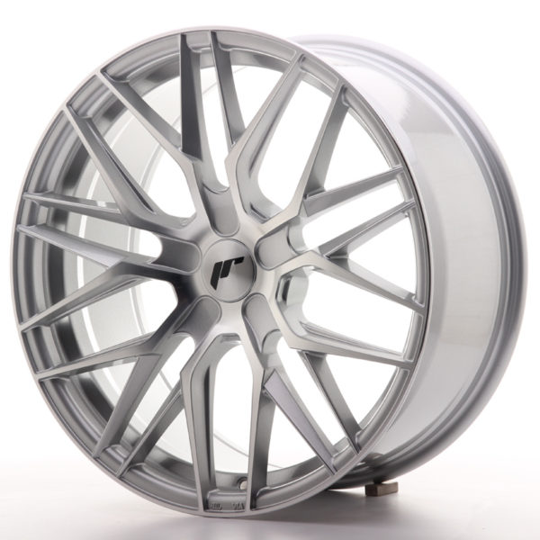JR Wheels JR28 19x8,5 ET20-40 5H BLANK Silver Machined Face