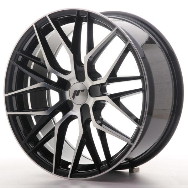 JR Wheels JR28 19x8,5 ET35-40 5H BLANK Gloss Black Machined Face