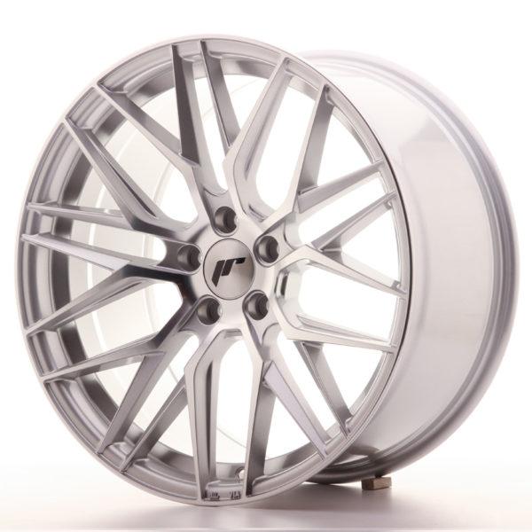 JR Wheels JR28 19x9,5 ET35 5x120 Silver Machined Face