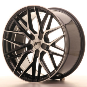 JR Wheels JR28 19x9,5 ET20-40 5H BLANK Gloss Black Machined Face