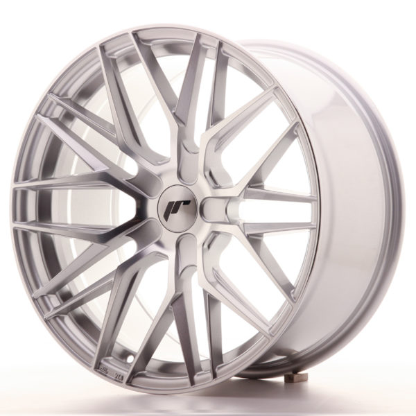 JR Wheels JR28 19x9,5 ET20-40 5H BLANK Silver Machined Face
