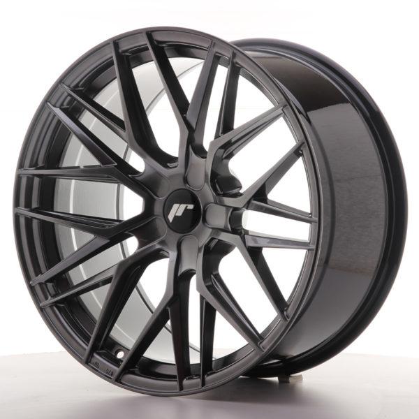 JR Wheels JR28 20x10 ET20-40 5H BLANK Hyper Black