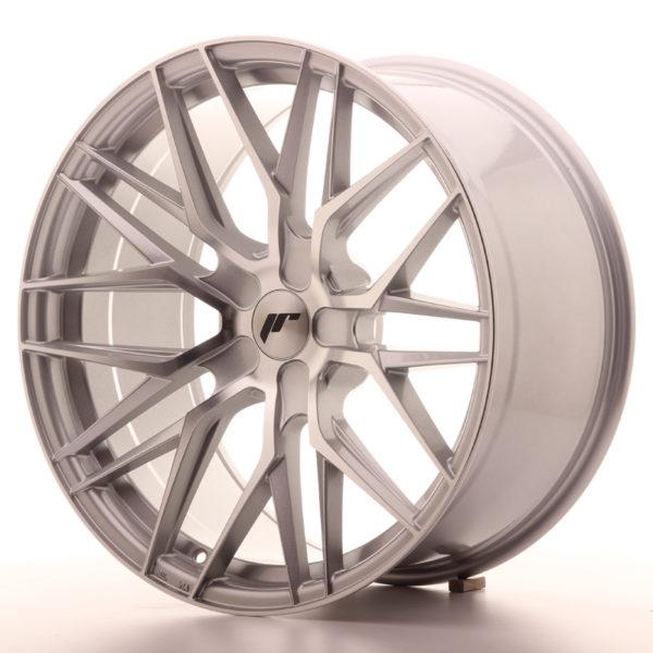 JR Wheels JR28 20x10 ET20-40 5H BLANK Silver Machined Face