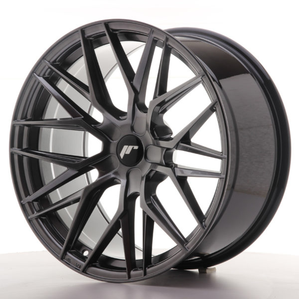 JR Wheels JR28 20x10 ET40 5H BLANK Hyper Black