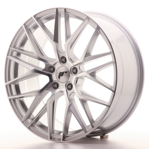 JR Wheels JR28 20x8,5 ET40 5x112 Silver Machined Face