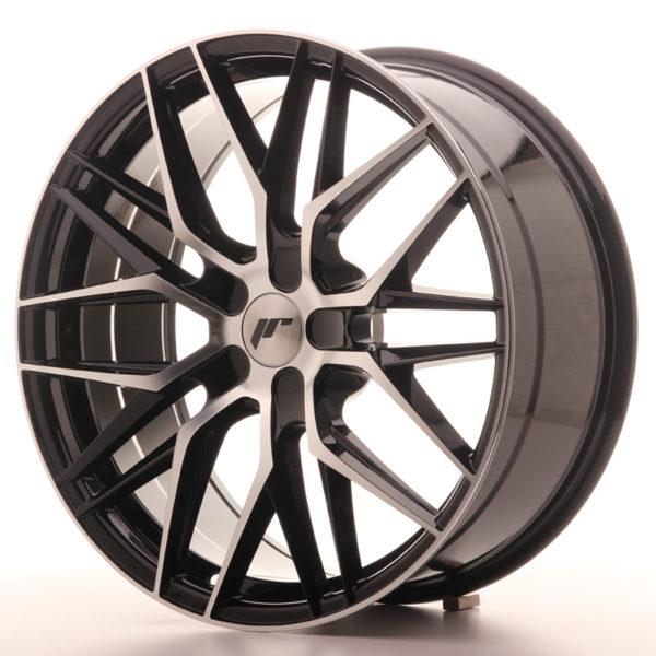 JR Wheels JR28 20x8,5 ET20-40 5H BLANK Gloss Black Machined Face