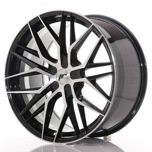 JR Wheels JR28 21x10,5 ET15-55 5H BLANK Gloss Black Machined Face