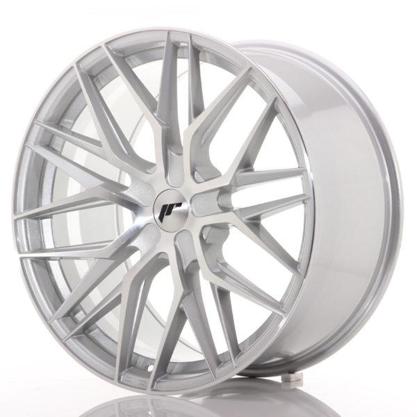 JR Wheels JR28 21x10,5 ET15-55 5H BLANK Silver Machined Face