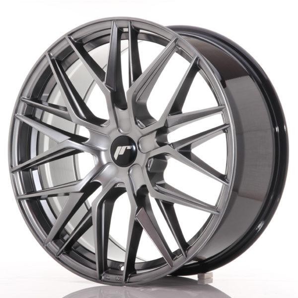 JR Wheels JR28 21x9 ET15-45 5H BLANK Hyper Black