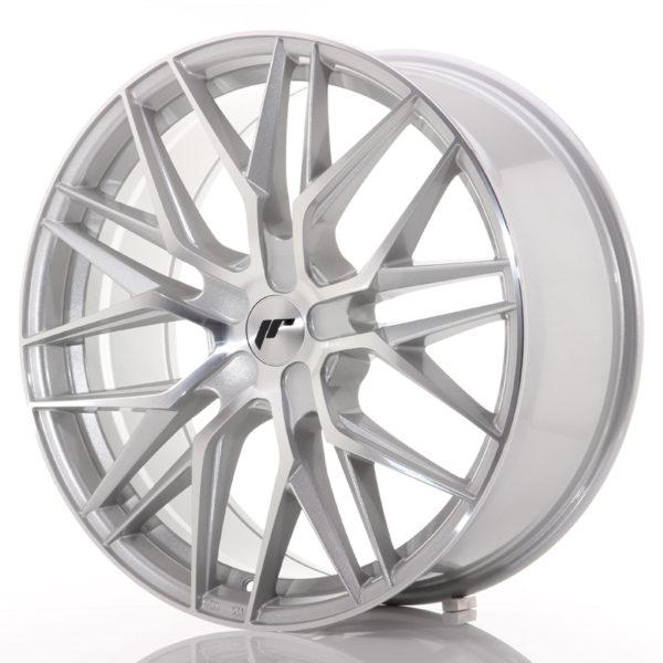 JR Wheels JR28 21x9 ET15-45 5H BLANK Silver Machined Face
