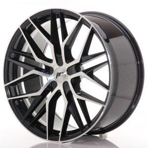 JR Wheels JR28 22x10,5 ET15-50 5H BLANK Gloss Black Machined Face