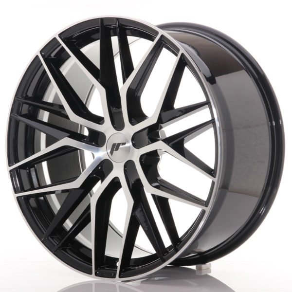 JR Wheels JR28 22x10,5 ET15-50 5H BLANK Gloss Black Machined Face