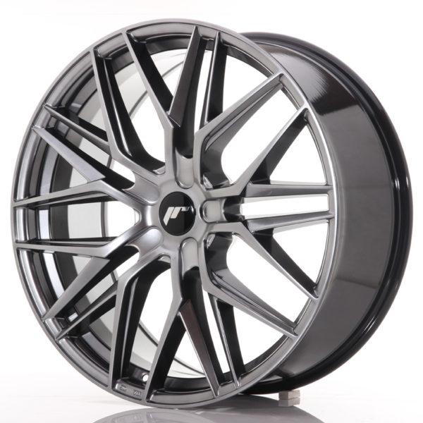 JR Wheels JR28 22x9 ET30-45 5H BLANK Hyper Black