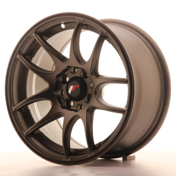 JR Wheels JR29 15x8 ET28 4x100/108 Matt Bronze