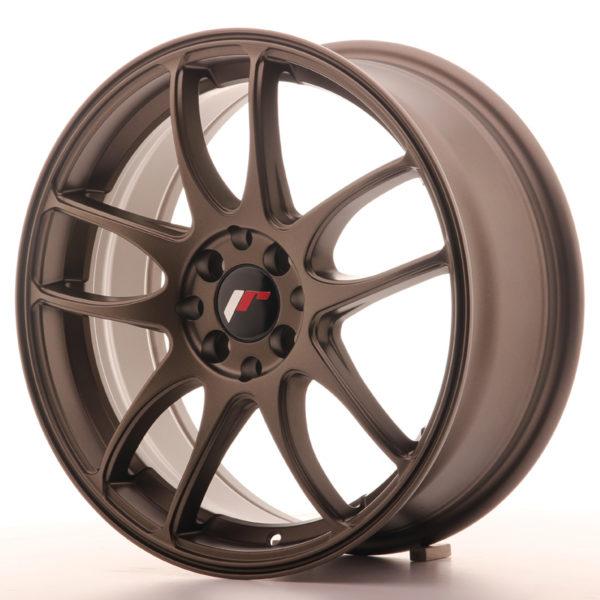 JR Wheels JR29 17x7 ET40 4x100/114 Matt Bronze