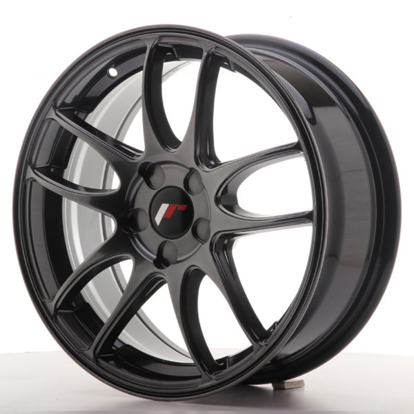 JR Wheels JR29 17x7 ET20-48 5H BLANK Hyper Black
