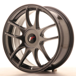 JR Wheels JR29 17x7 ET20-48 BLANK Hyper Black