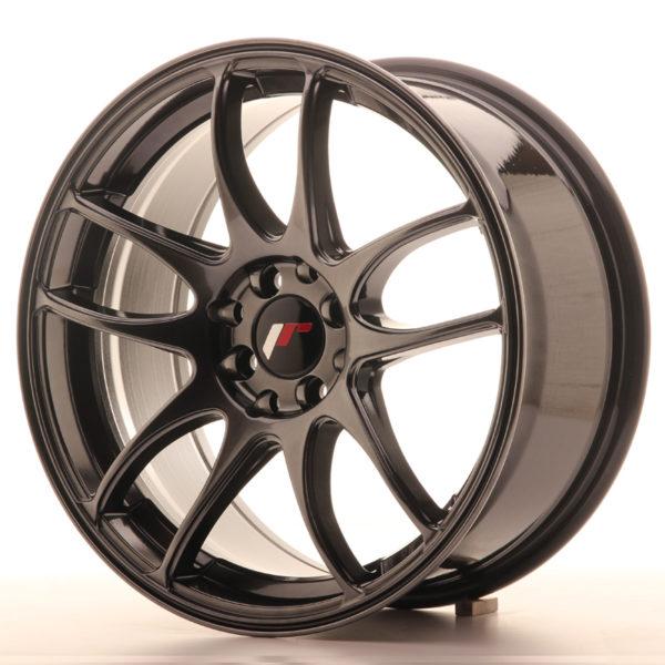 JR Wheels JR29 17x8 ET35 4x100/114 Hyper Black