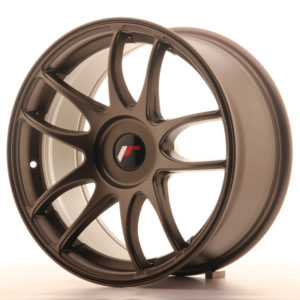 JR Wheels JR29 17x8 ET20-38 BLANK Matt Bronze