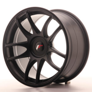JR Wheels JR29 17x9 ET20-38 BLANK Matt Black