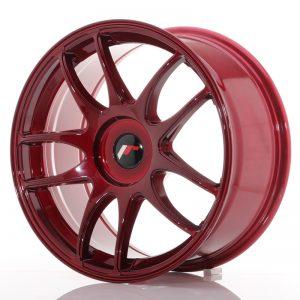 JR Wheels JR29 18x8,5 ET40-48 BLANK Platinum Red