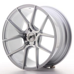 JR Wheels JR30 18x8,5 ET40 5x112 Silver Machined Face