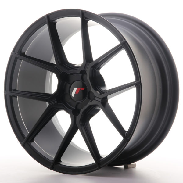 JR Wheels JR30 18x8,5 ET20-40 5H BLANK Matt Black
