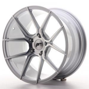 JR Wheels JR30 18x9,5 ET35 5x120 Silver Machined Face